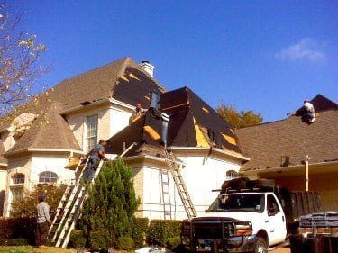 Roofing company in Frisco TX