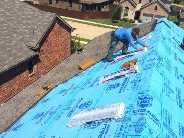 Roofing Project in the DFW area