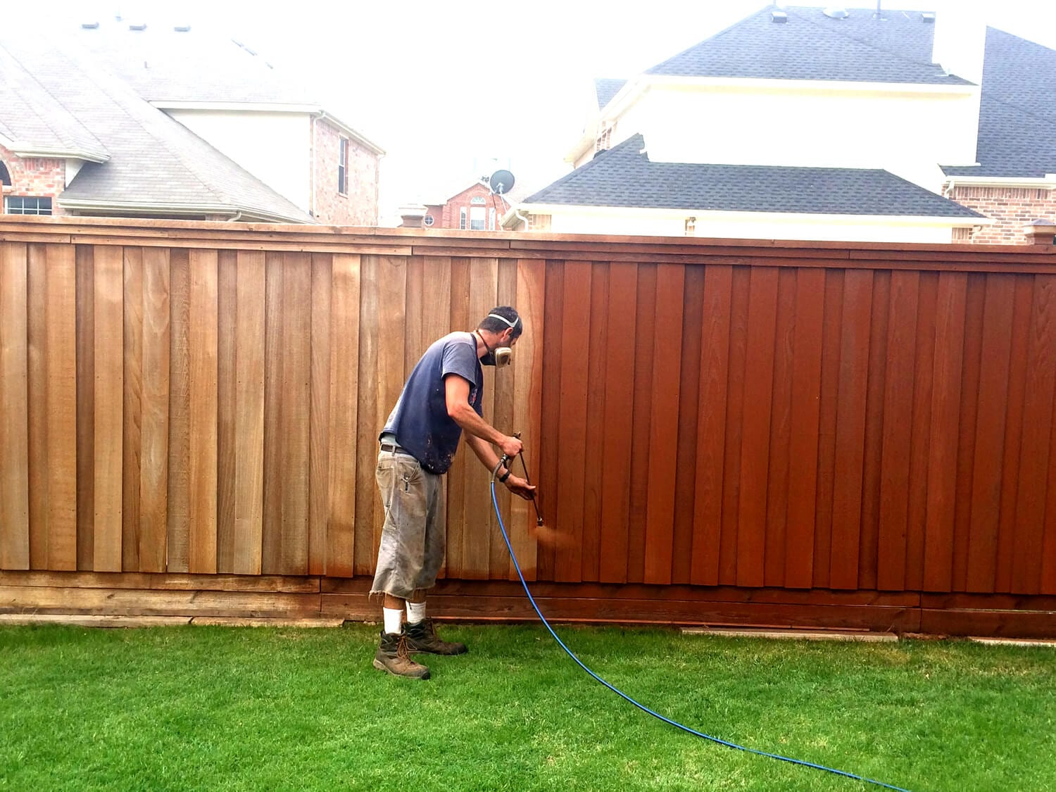 Fence Staining Final Cut Roofing