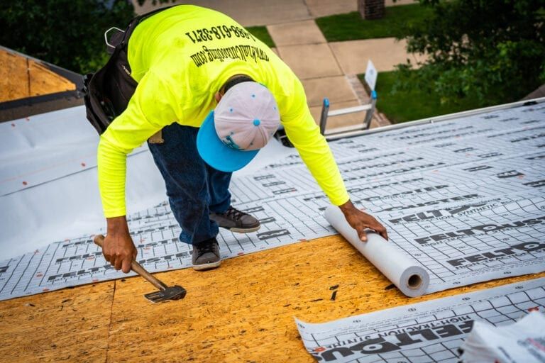 The Five Benefits of Synthetic Underlayment